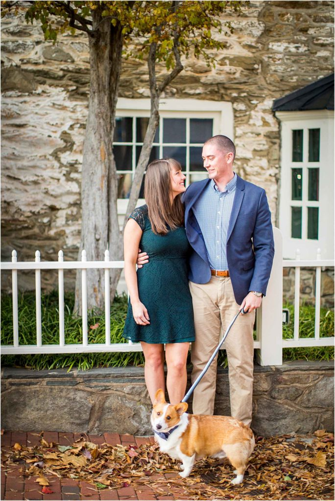 Downtown Middleburg Virginia Engagement