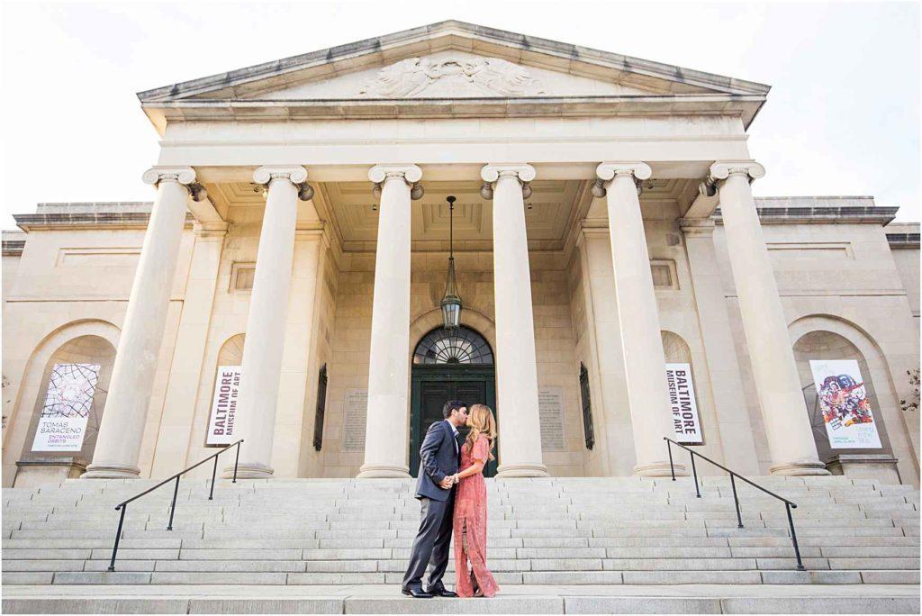 Mount Vernon Baltimore Engagement